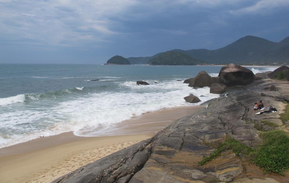 A Praia do Cepilho é a preferida dos surfistas
