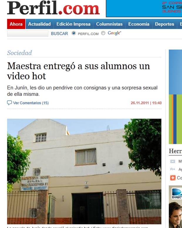 Caso gerou comoção entre os pais dos alunos da Escola Manuel Dorrego. (Foto: Reprodução)