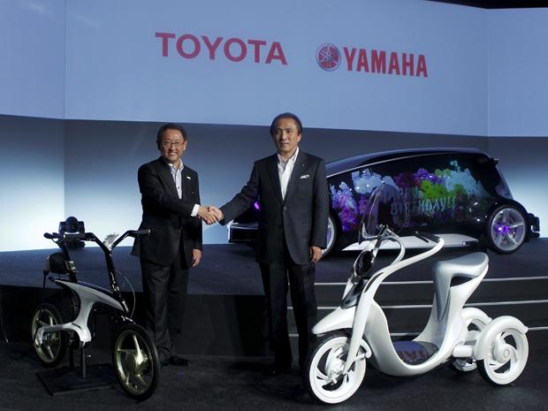 Yamaha; toyota; motos; elétricas (Foto: Kim Kyung-Hoon /REUTERS)