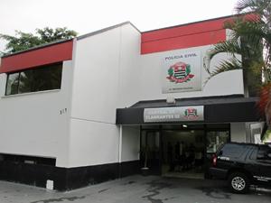 Central de Flagrantes do 91º DP, na Zona Oeste (Foto: Marcelo Mora/G1)