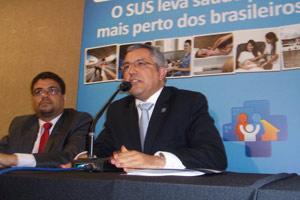 O ministro da Saúde, Alexandre Padilha (Foto: Felipe Neri / G1)