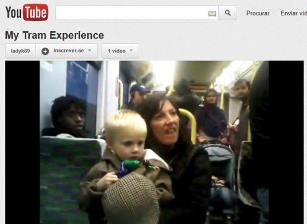 Vídeo publicado no YouTube foi visto mais de 350 mil vezes em 48 horas (Foto: Reprodução)