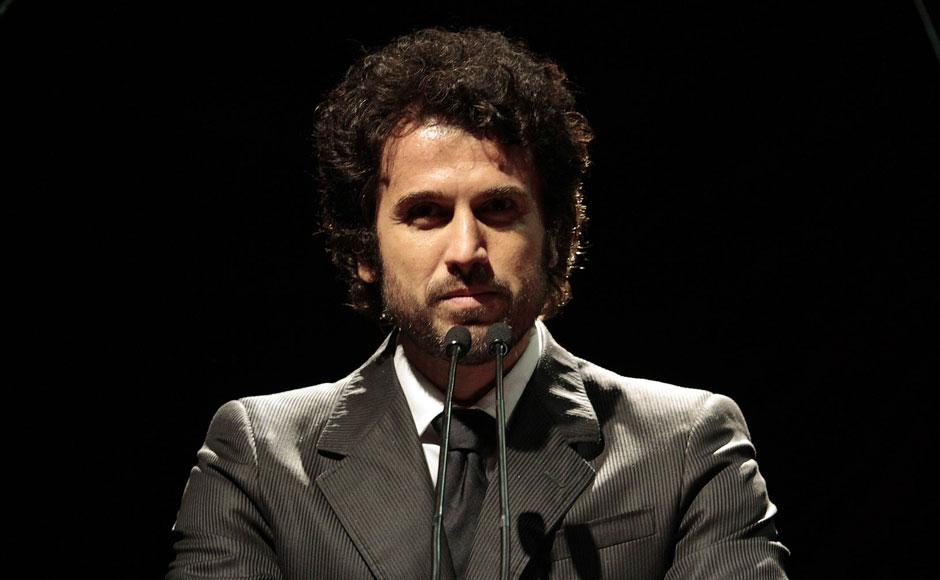 O ator Eriberto Leão foi o apresentador do Troféu Promessas, principal premiação do gospel nacional