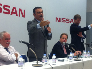 Carlos Ghosn, chairman e CEO do Grupo Renault Nissan (Foto: Luciana de Oliveira/G1)