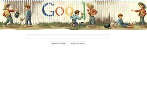 Google homenageia o escritor Mark Twain (Foto: Reprodução)