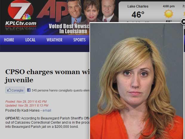Heather N. Daughdrill em imagem divulgada pela polícia (Foto: Reprodução)