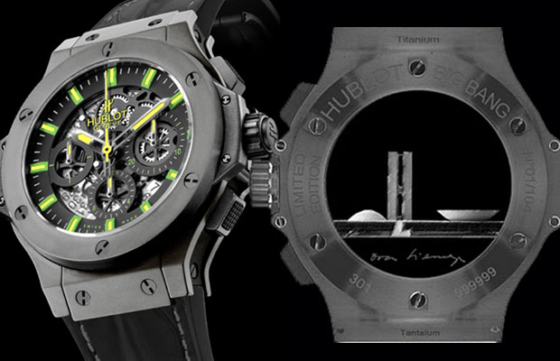 Aero Bang Niemeyer watch by Hublot was launched in Brasilia honoring the architect Oscar Niemeyer and the city he created