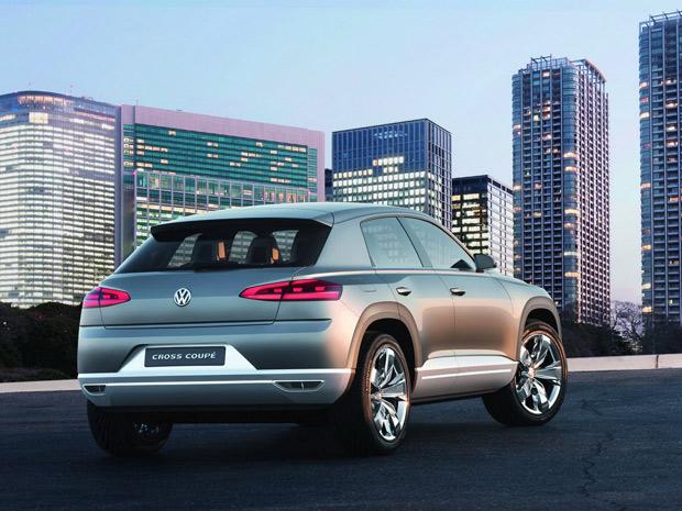 VW Cross Coupé tem espaço para quatro pessoas  (Foto: Divulgação)