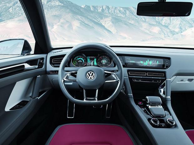VW Cross Coupé tem 2,63 m de distância entre-eixos (Foto: Divulgação)