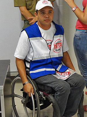Educador Alexandre do Nascimento (Foto: Katherine Coutinho/G1)