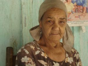 Dona Luiza  (Foto: Adriana Justi / G1)