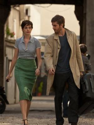 Anne Hathaway e Jim Sturgess em cena de 'Um dia' (Foto: Divulgação)