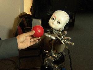 Robôs identificam objetos e reconhecem rostos de pessoas. (Foto: BBC)