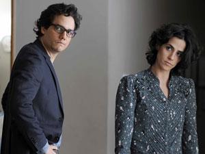 """Wagner Moura e Mariana Lima em """"A cadeira do pai"""" (Foto: Priscila Prade/Divulgação)"""
