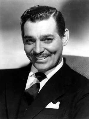 Clark Gable, em 1946. (Foto: Arquivo / AP Photo)