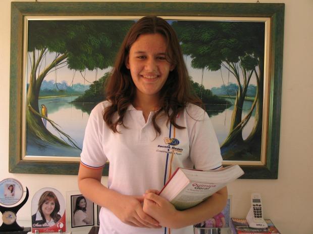 Débora se inscreveu pela segunda vez na olimpíada e faturou medalha de ouro. (Foto: Honório Barbosa/ Agência Diário)