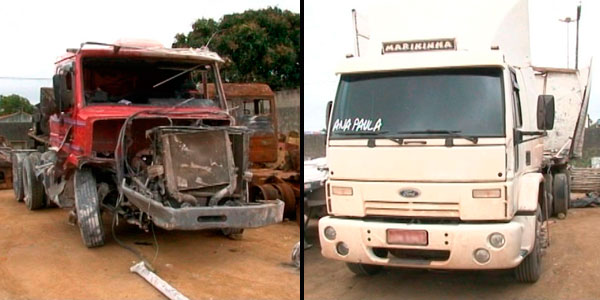 Ônibus que levava trabalhadores na BA rodava com liminar do DF, diz PRF (Foto: Imagens/ TV Bahia)