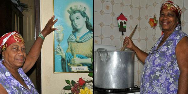 Patrimônio imaterial, dia de Santa Bárbara é celebrado por baianos (Foto: Eric Luis Carvalho/Arquivo Pessoal)