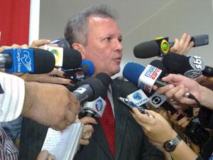 O deputado André Figueiredo (CE), presidente interino do PDT (Foto: Felipe Nery / G1)