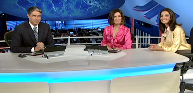 JN se despede de Fátima Bernardes e dá boas-vindas a Patrícia Poeta (reproducao tv)
