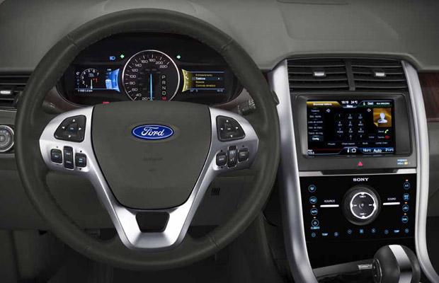 Ford Edge  Foto Divulgacao
