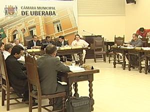 Uberaba terá 21 vereadores em 2013 (Foto: Reprodução/TV Integração)
