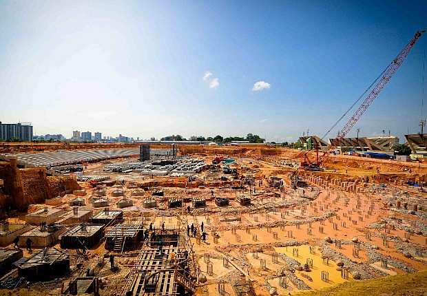 Pico da obra deverá ocorrer no 1º trimestre de 2012 (Foto: Divulgação)