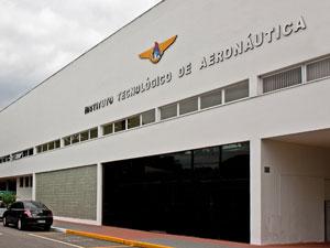 Fachada do ITA em São José dos Campos (Foto: Johnson Barros/Força Aérea Brasileira)