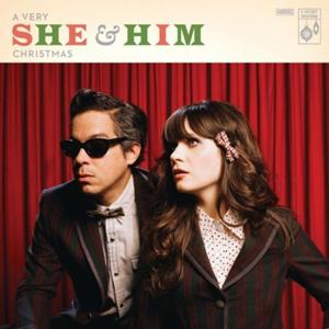 O terceiro CD da dupla She & Him é natalino (Foto: Divulgação)