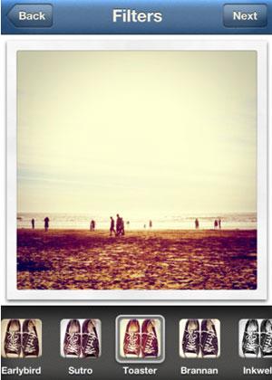 O aplicativo do Instagram permite tirar fotos e editá-las com filtros (Foto: Divulgação)