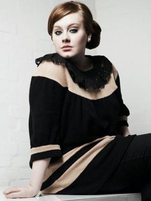 A cantora inglesa Adele (Foto: Divulgação)