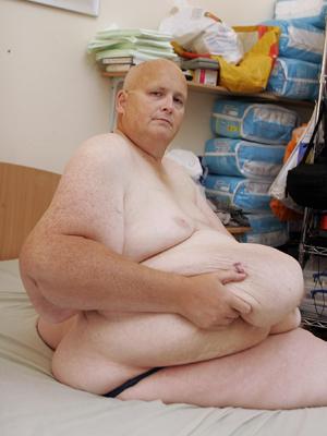 Britânico Paul Mason já perdeu 250 quilos desde 2010. (Foto: Paul Nixon / via BBC)