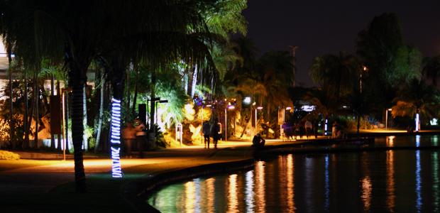 Pontão do Lago Sul: bares e restaurantes com frutos do mar e música ao vivo  (Foto: Vianey Bentes / TV Globo)