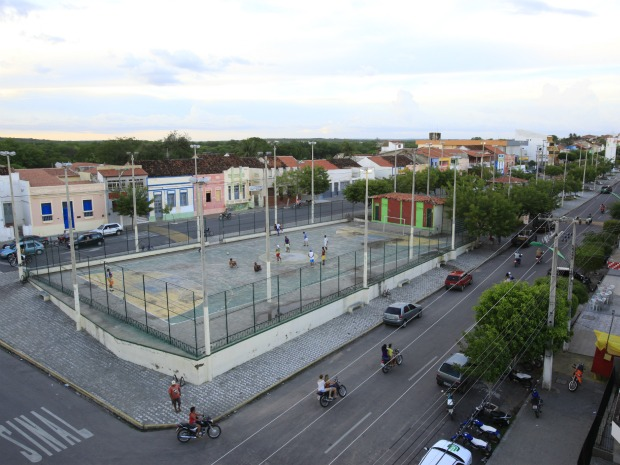 Duas indústrias e dois hotéis estão sendo construídos na cidade de Tauá, no Sertão Cearense. (Foto: MPX Tauá/Divulgação)
