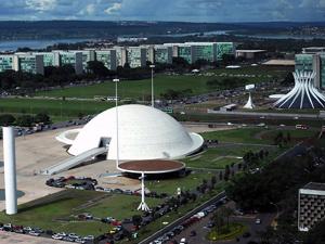 Museu Nacional, com Esplanada dos Ministérios ao fundo (Foto: Agência Brasil)