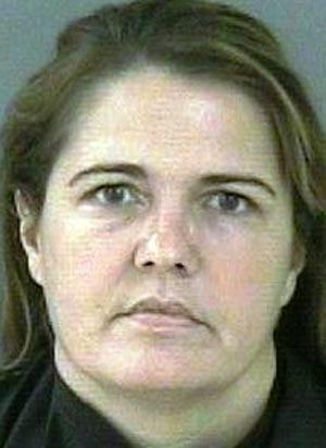 Maryann Scott foi presa por apertar o testículo do marido. (Foto: Divulgação)