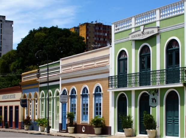 Largo São Sebastião AM (Foto: Tiago Melo / G1 AM)