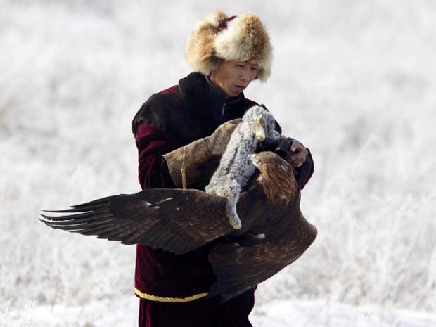águia 4 (Foto: Shamil Zhumatov/Reuters)
