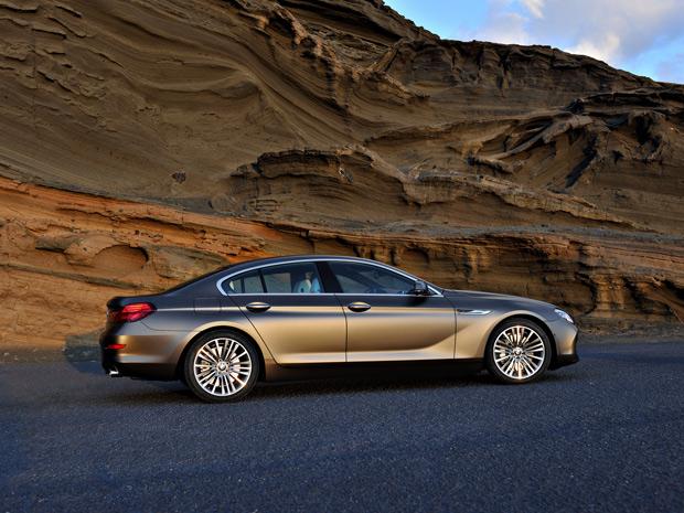 BMW Série 6 Gran Coupe estreia no Salão de Genebra, em março de 2012 (Foto: Divulgação)
