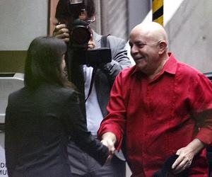 Lula chega a hospital de SP para terceira sessão de quimioterapia (Foto: AE)