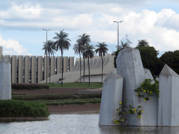 Setor Militar Urbano tem Praça dos Cristais (Foto: Jamila Tavares/G1)
