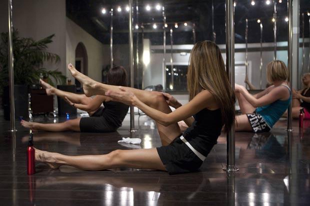 Cidade de Las Vegas oferece um curso de 'stripper'. (Foto: Adrian Sanchez-Gonzalez/AFP)