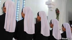 Celibato aumenta risco de câncer para as freiras (Foto: Reuters/BBC)
