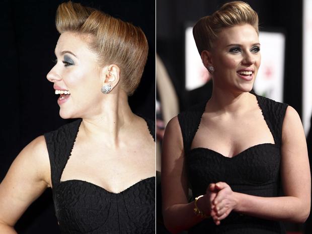 Scarlett Johansson lança o filme 'Compramos um zoológico' em Nova York nesta segunda-feira (12) (Foto: Reuters/Carlo Allegri)