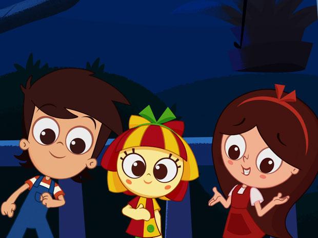 Animação do Sítio do Picapau Amarelo (Foto: Reprodução/TV Globo)