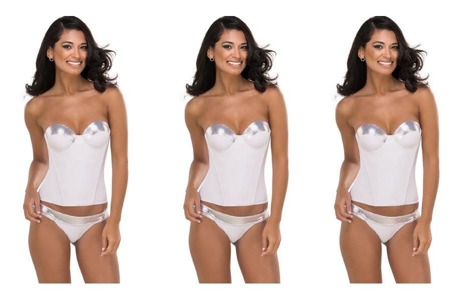 Corselet da DeMillus é opção para usar como lingerie no ano novo
