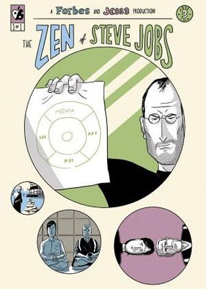 'The Zen of Steve Jobs' é um livro em quadrinhos que mostra parte da vida do cofundador da Apple (Foto: Reprodução)