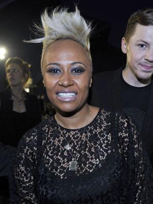 A cantora escocesa Emeli Sandé (Foto: Andy Buchanan/AFP)