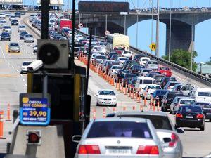 Veja o aumento da tarifa da 3ª Ponte (Foto: Gabriel Lordêllo / Jornal A Gazeta)