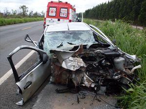 acidente no oeste da bahia (Foto: Reprodução/TV Oeste)